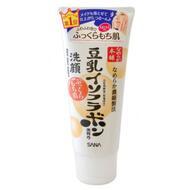 Sana MOISTURE CLEANSING WASH / Пенка для умывания и снятия макияжа увлажняющая с изофлавонами сои SOY MILK