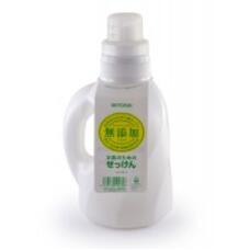 Жидкое средство  для стирки основе натуральных компонентов MIYOSHI для изделий из хлопка 1100 мл