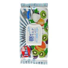 MORNING FACIAL SHEET MASK FRESH Маска-салфетка для утреннего ухода за лицом Увлажнение и упругость с ароматом йогурта и киви 28 шт