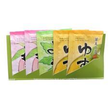 MAX BATH SALT / Соль для ванны увлажняющая (с ароматами персика, полыни и юдзу) - 5 шт.