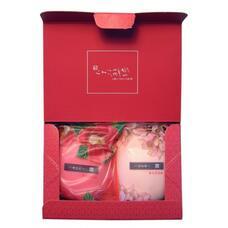"""Master Soap Подарочные наборы  Saika Dayori soap set / Набор """"Цветы и травы"""" (70g*2)"""