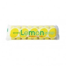 Miyoshi Туалетное мыло для всей семьи с ароматом лимона