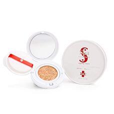 Кушон на основе стволовых клеток SPS TREATMENT HAS Aging-care Cushion Foundation SPF50+ PA++++ цвет охра 12 гр