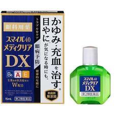 LION SMILE 40 Mediclear DX Антивозрастные капли для глаз с усиленной концентрацией витаминов 15 мл