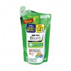 KAO Men's Biore Мужское пенящееся мыло для тела с противовоспалительным и дезодорирующим эффектом, с цветочным ароматом сменка 380мл