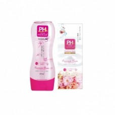 Нежный гель для интимной гигиены JRS pH Care с пантенолом и растительными экстрактами (с экстрактом ромашки и цветочным ароматом) 150 мл