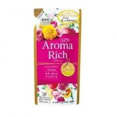 Кондиционер для белья Scarlett с цветочно-фруктовым ароматом запасной блок LION Aroma Rich 430 мл