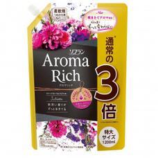 LION Aroma Rich  Juliette  Кондиционер для белья  с  с богатым ароматом натуральных масел 1200 мл