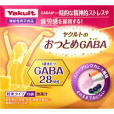 Растворимая гамма-аминомасляная кислота со вкусом черной смородины Yakult Gaba № 15