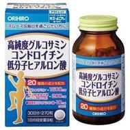 Orihiro Глюкозамин высокой степени очистки, хондроитин и низкомолекулярная гиалуроновая кислота № 270
