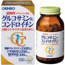 ORIHIRO Глюкозамин и хондроитин растительного происхождения № 360