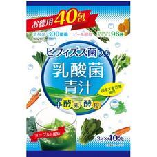 Yuwa Аодзиру лист молодого ячменя с молочнокислыми бактериями, 86 видов растительных ферментов со вкусом йогурта № 40