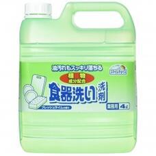 Mitsuei Средство для мытья посуды, овощей и фруктов (аромат лайма) 4 л