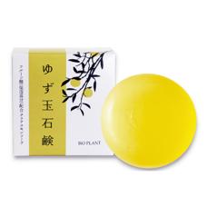Мыло-пилинг с маслом Юдзу Bio Plant Cleansing soap, 80 гр.