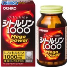 Цитруллин для мужчин Orihiro Citrulline Mega Power 1000