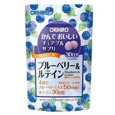 Черника и лютеин для глаз жевательные витамины ORIHIRO № 120