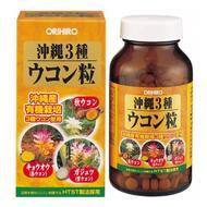 Комплекс для восстановления печени Orihiro 3 вида куркумы № 420