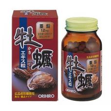 Orihiro экстракт устриц (120 капсул на 30 дней)
