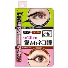 BCL Brow Lash Ex Mascara & Eyeliner / Тушь для ресниц (объем и подкручивание), черная + подводка, золотисто-коричневая