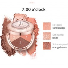 Тени для век LABIOTTE MOMENTIQUE TIME SHADOW 7 O'CLOCK 3,4 г