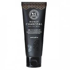 Маска-пленка для лица GAIN COSMETIC Moksha Honey Charcoal peel-off mask 100 мл