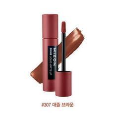 Помада матовая жидкая MIZON Skins Liquid Matte Lip 307 DAZZLE BROWN 6 гр