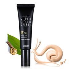 ББ крем с экстрактом улитки и золотом 23тон Lioele Super Gold Snail BB SPF50 #23 Warm Beige 50 мл