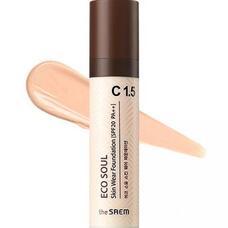 Тональная основа THE SAEM Eco Soul Skin Wear Foundation C 1.5 Cotton tone 30 мл