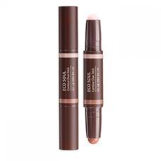 Стик для контурного макияжа THE SAEM Eco Soul Contour Duo Stick 1,9гр*2