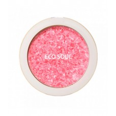 Румяна компактные 01 THE SAEM Eco Soul Carnival blush 01 Rose 9,5 гр