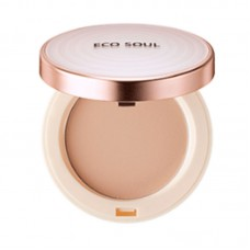 Пудра санскрин 23 THE SAEM Eco Soul UV Sun Pact 23 Natural Beige 11 гр