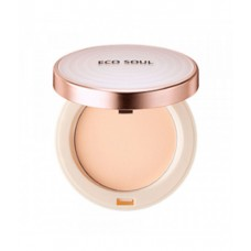 Пудра санскрин 21 THE SAEM Eco Soul UV Sun Pact 21 Light Beige 11 гр