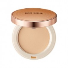 Пудра компактная 21 тон THE SAEM Eco Soul Perfect Cover Pact 21 Light Beige 11 гр