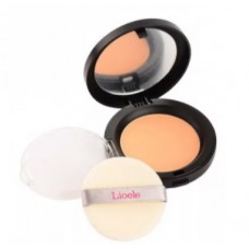 Пудра компактная 23тон Lioele Be My Skin Powder Pact [All Skin Type] 23 Natural Beige 12 гр