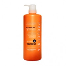 Маска для окрашенных волос и волос после химического выпрямления Lebel Proscenia Treatment M 980 мл