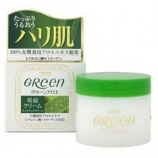 Meishoku Aloe Moisture Cream / Увлажняющий крем для сухой кожи лица Green Plus