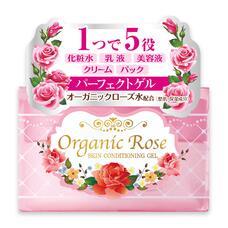 Meishoku SKIN CONDITIONING GEL / Увлажняющий гель-кондиционер для кожи лица с экстрактом дамасской розы  ORGANIC ROSE