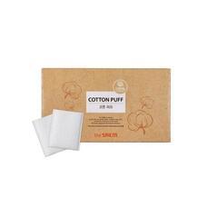 Спонжи косметические из 100% хлопка THE SAEM Cotton Puff 20 шт