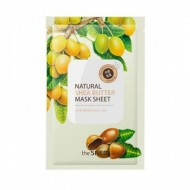 Маска тканевая с экстрактом масла ши THE SAEM Natural Shea Butter Mask Sheet 21мл