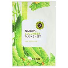 Маска тканевая с экстрактом огурца THE SAEM (NEW) Natural Cucumber Mask Sheet 21мл