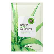 Маска тканевая с экстрактом алоэ вера THE SAEM Natural Aloe Mask Sheet 21мл
