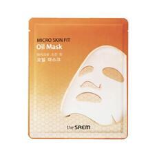 Маска с маслом кокоса биоцеллюлозная THE SAEM Micro Skin Fit Oil Mask 27гр