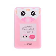 Маска ZOO для лица с эфф. сияния THE SAEM ZOO PARK Brightening Lamb 25мл