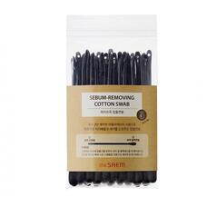 Ватные палочки набор для очистки пор THE SAEM Sebum-Removing Cotton Swab 2*20шт