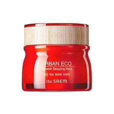 Маска для лица ночная с экстрактом телопеи THE SAEM Urban Eco Waratah Sleeping Mask 80 мл
