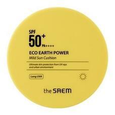 Кушон солнцезащитный THE SAEM Eco Earth Power Mild Sun Cushion 15 гр