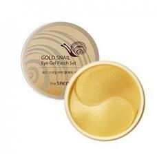 Набор патчей с экстрактом муцина улитки для век THE SAEM Gold Snail Eye Gel Patch Set 60 шт