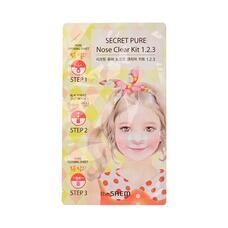 Пластырь для удаления черных точек THE SAEM Secret Pure Nose Clear Kit 1•2•3 6гр