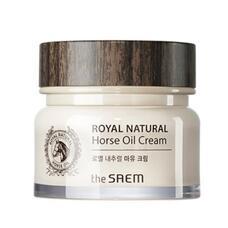 Крем с лошадиным жиром THE SAEM Royal Natural Horse Oil Cream 80 мл