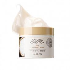 Крем очищающий рисовый THE SAEM NATURAL CONDITION Rice Cleansing Cream (N2) 300 мл